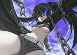 Konachan.com - 56326 black_rock_shooter kuroi_mato underboob
