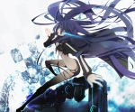 Konachan.com - 58561 black_rock_shooter gun kuroi_mato plastick weapon