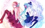 Konachan.com - 95177 hatsune_miku megurine_luka vocaloid