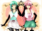 Konachan.com - 96124 gumi happy_synthesizer_(vocaloid) megurine_luka vocaloid