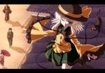 Konachan.com - 99374 animal blush cat green_eyes green_hair isatessyu komeiji_koishi short_hair touhou