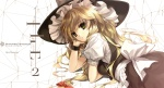 Konachan.com - 99395 blonde_hair bow diverse_system dress hat kirisame_marisa touhou
