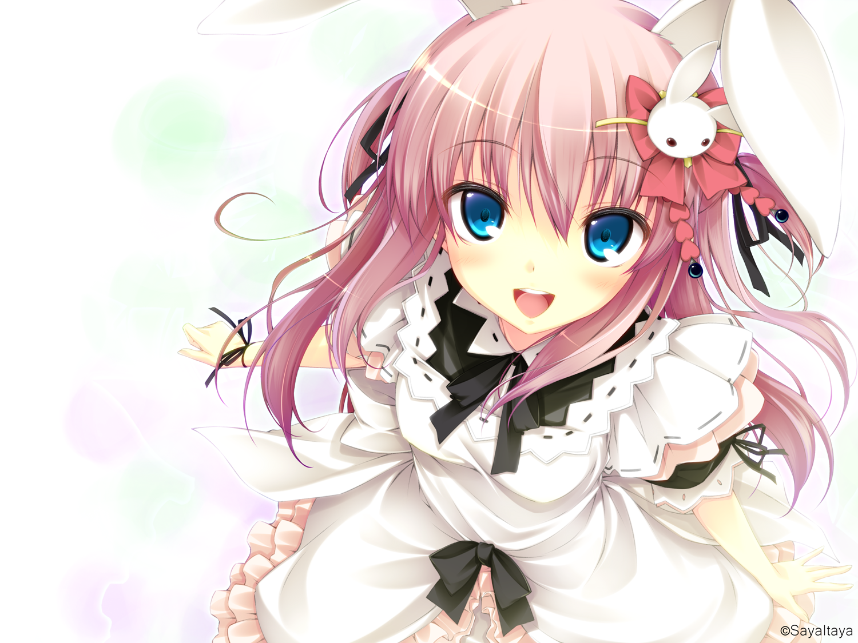 Картинки аниме девушек с ушками кошки - 9a