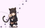 Konachan.com - 88563 animal_ears gokou_ruri lolita_fashion ore_no_imouto_ga_konnani_kawaii_wake_ga_nai ribbons tail