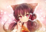 Konachan.com - 103838 bow brown_hair hakurei_reimu moekyon red_eyes touhou