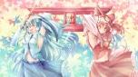 Konachan.com - 104070 hakurei_reimu kochiya_sanae touhou