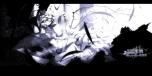 Konachan.com - 104641 bat dress feathers flandre_scarlet monochrome remilia_scarlet tan touhou wings