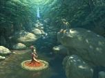 Konachan.com - 104978 dress forest kagiyama_hina kawashiro_nitori o'm touhou water