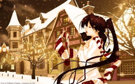 Konachan.com - 136121 christmas kagome tagme