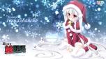 Konachan.com - 151500 blush christmas kamitsurugi_ouka koiseyo!!imoutobancho latte long_hair thighhighs twintails