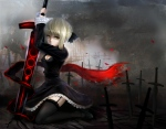 Konachan.com - 119250 dress fate_stay_night saber sword weapon windtalker