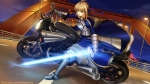 Konachan.com - 119847 armor fate_stay_night fate_zero motorcycle saber shirakawa_mayo sword weapon