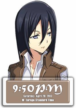 mikasa_clock