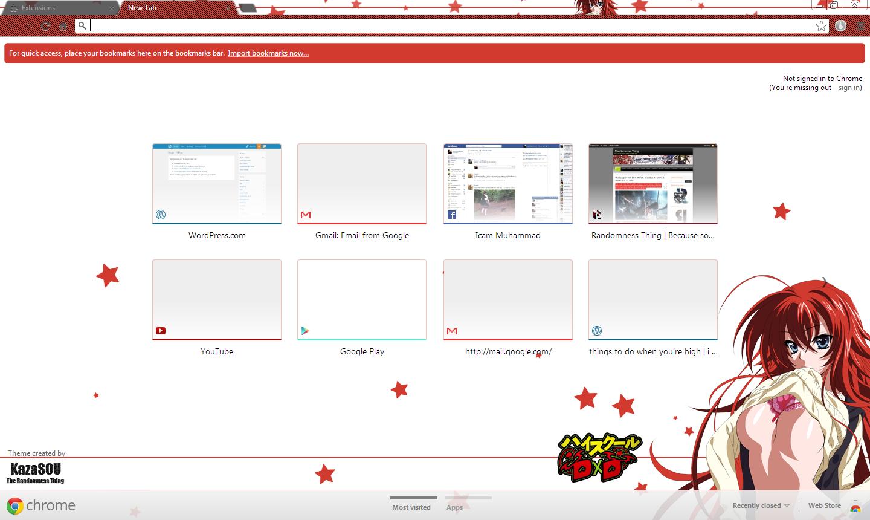 Gmail theme missing - Rias_chrome