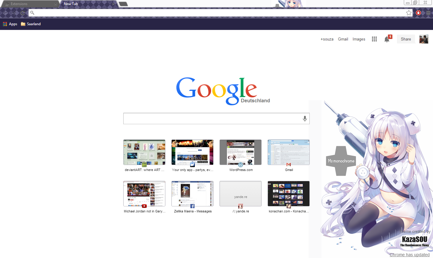 Google themes jordan