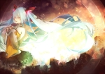 Konachan.com - 168969 akatonbo blue_hair hatsune_miku long_hair odds_&_ends_(vocaloid) skirt twintails vocaloid