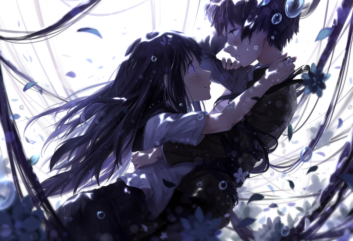Wallpaper of The Week: chitanda EruxOreki Houtarou Randomness Thing