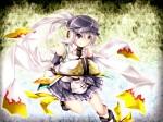 Konachan.com - 170127 gray_eyes gray_hair hat kazetto long_hair mononobe_no_futo shirt touhou