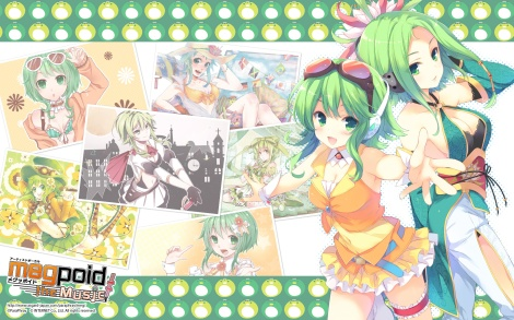 Konachan.com - 180256 breasts cleavage gumi tagme vocaloid