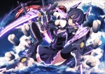 Konachan.com - 170269 eyepatch gloves kantai_collection katana merontomari sword tenryuu_(kancolle) thighhighs weapon