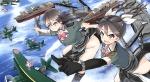 Konachan.com - 182505 chikuma_(kancolle) equipments_fairy_(kancolle) fairy_(kancolle) kantai_collection tagme tagme_(artist) tone_(kancolle)