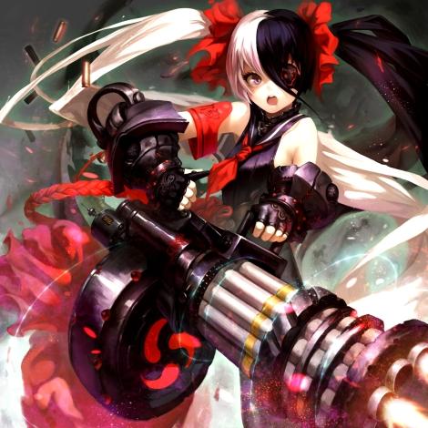 yande.re 294833 blade_&_soul eyepatch gun pohwaran tagme 維小恩