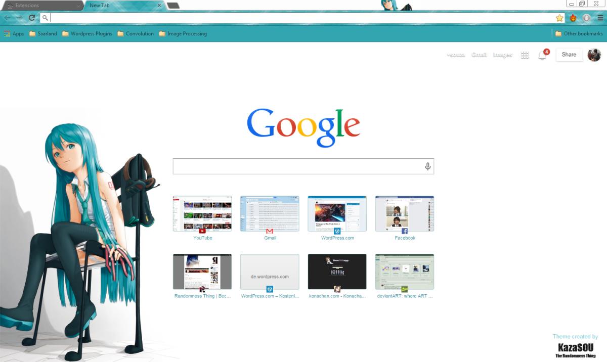 Google themes hatsune miku - Google Themes Hatsune Miku 16