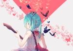 Konachan.com - 183568 aqua_eyes aqua_hair butterfly guitar hatsune_miku instrument ryuutsuki_basetsu twintails vocaloid