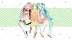 Konachan.com - 184722 gumi hatsune_miku megurine_luka temari_(deae) vocaloid