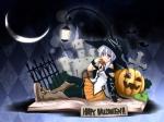 Konachan.com - 147551 apple halloween hat jpeg_artifacts original witch yuuki_eishi