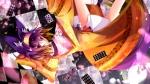 Konachan.com - 183893 animal_ears hatsuse_izuna japanese_clothes no_game_no_life ozshia_(shia-ushio) purple_eyes purple_hair short_hair