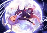 Konachan.com - 188203 bunny_ears kunieda moon reisen_udongein_inaba touhou