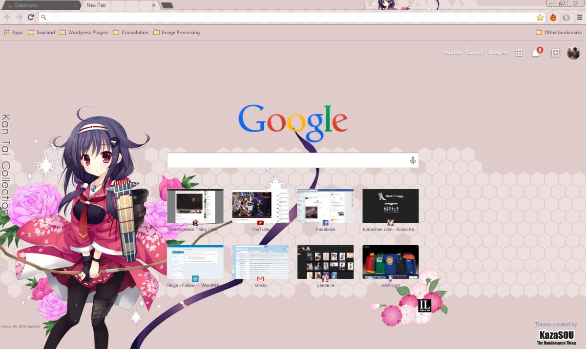 Gmail theme anime - Gmail Theme Anime 11