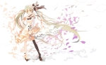 Konachan.com - 177123 bzerox dress hatsune_miku long_hair twintails vocaloid