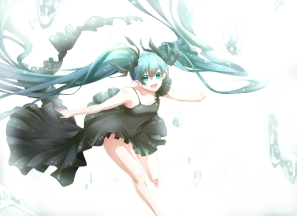 Konachan.com - 184854 deep-sea_girl_(vocaloid) dress hatsune_miku phino_(jinko0094) twintails vocaloid