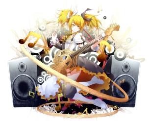 Konachan.com - 186895 kagamine_rin phino_(jinko0094) vocaloid