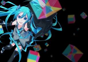 Konachan.com - 187604 aqua_eyes aqua_hair hatsune_miku monq vocaloid