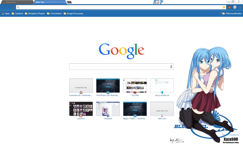 Google themes nba - Atago_takao_chrome