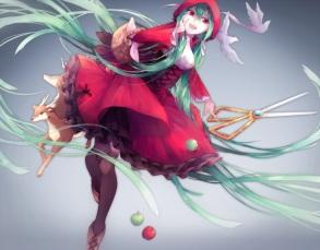 Konachan.com - 189338 hatsune_miku little_red_riding_hood lyodi vocaloid