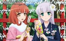 Konachan.com - 194005 2girls furukawa_yui japanese_clothes sasaki_kaori tagme_(artist) ushinawareta_mirai_wo_motomete