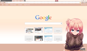 yuigahama_yui_chrome