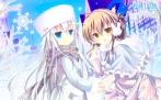 Konachan.com - 194813 2girls dress hibiki_(kancolle) inazuma_(kancolle) kantai_collection shirogane_hina verniy_(kancolle)