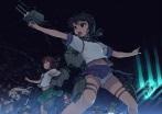 Konachan.com - 194834 chain ebizome fubuki_(kancolle) kantai_collection long_hair naka_(kancolle) navel panties seifuku sendai_(kancolle) short_hair skirt underwear