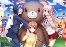 Konachan.com - 185124 fang nakajima_yuka scan tagme teddy_bear