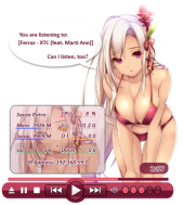 bikini_girl_rainmeter