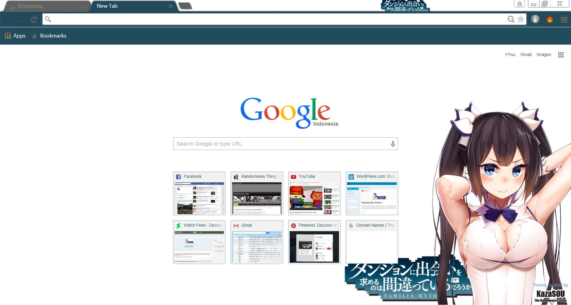 Google themes today - Hestia_chrome3