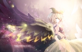 Konachan.com - 193715 blonde_hair blue_eyes headband kagamine_rin short_hair vocaloid wings yotsuba_(vidaliu00)