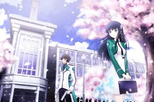 Konachan.com - 191919 asakurashinji cherry_blossoms mahouka_koukou_no_rettousei shiba_miyuki shiba_tatsuya