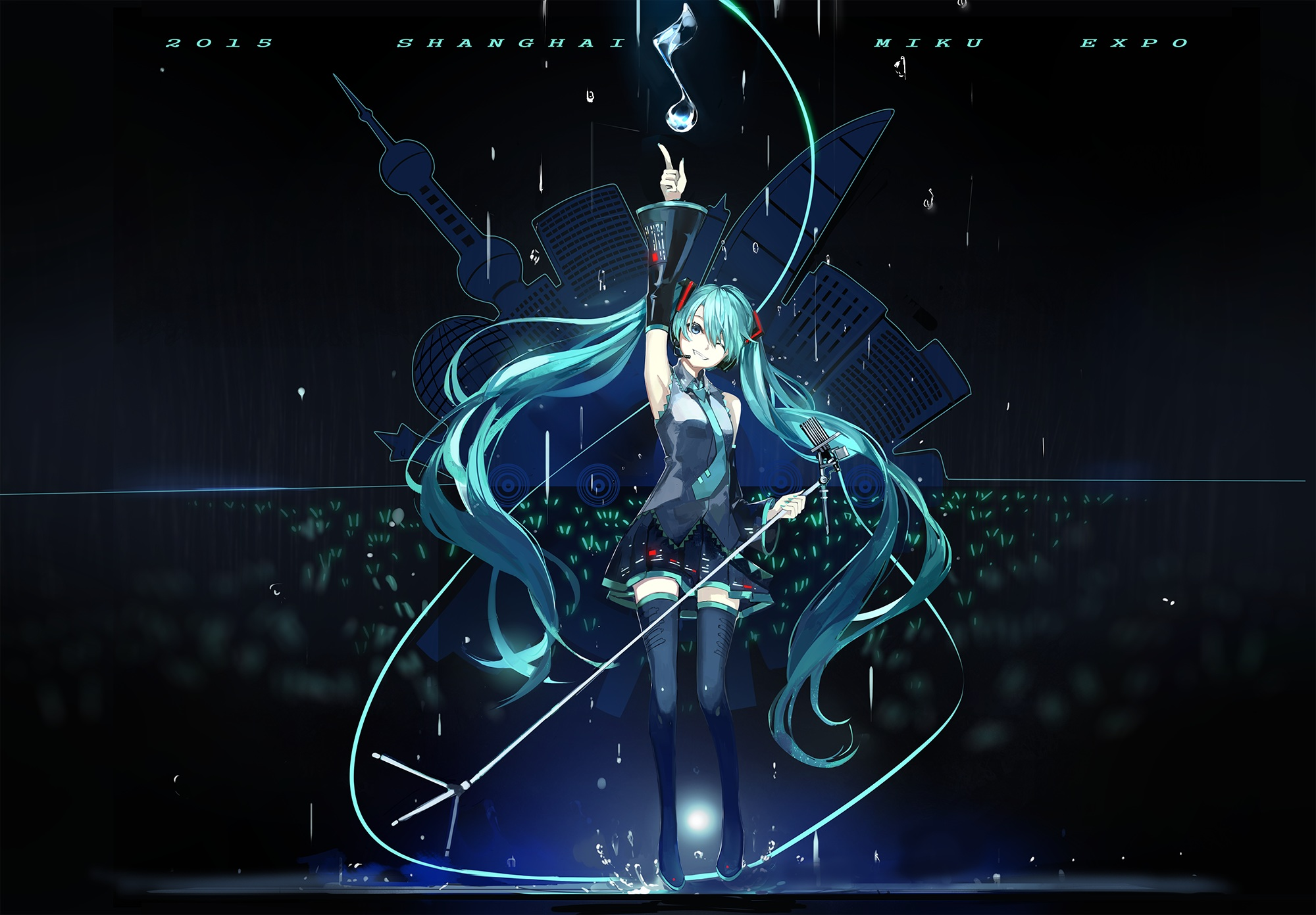Wallpaper Of The Week Hatsune Miku 39 Randomness Thing