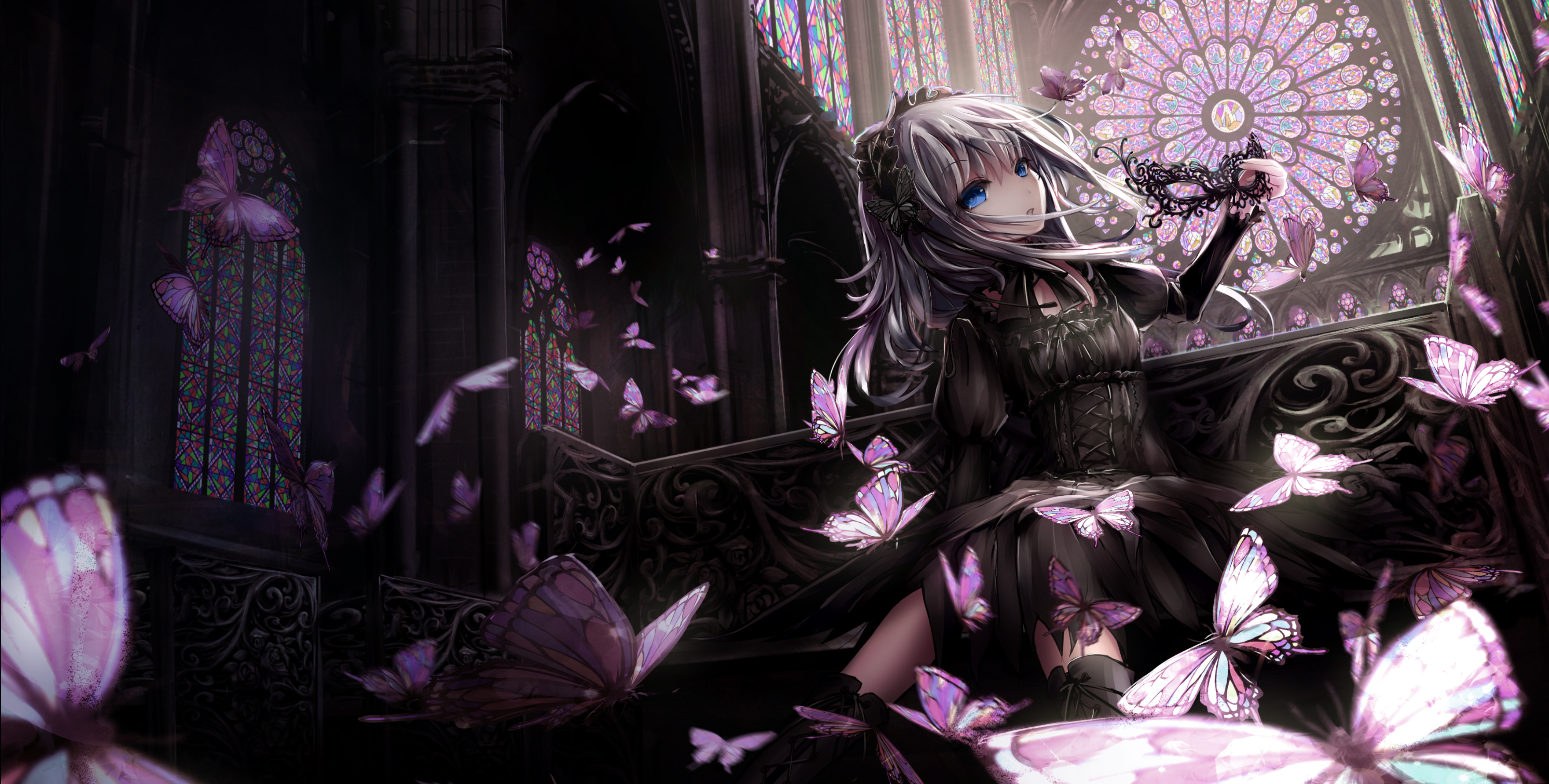 wallpaper of the week: gothic girl 5 | randomness thing
